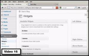 how to install a sidebar widget