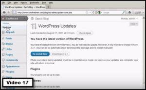 how to update wordpress & theme