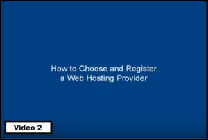 how to choose a webhost