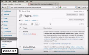 how to activate Akismet plugin