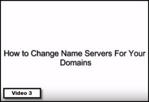 how to change name servers